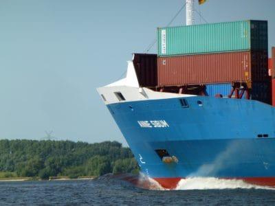 lastin, rahtilaiva, vesijetit, vesi, aluksen teollisuuden, meri, ajoneuvon, kontti
