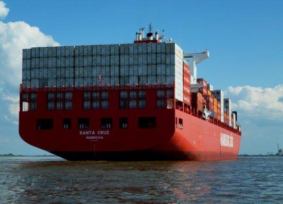 Wasser, Frachtschiff, blauer Himmel, Wasserfahrzeug, Meer, Schiff, Boot, Hafen, Hafen, transport