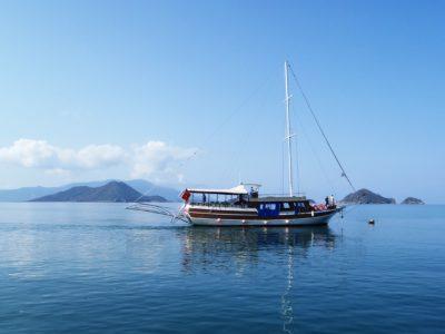 agua, mar, motos acuáticas, cielo azul, mar, barco, nave, bote salvavidas