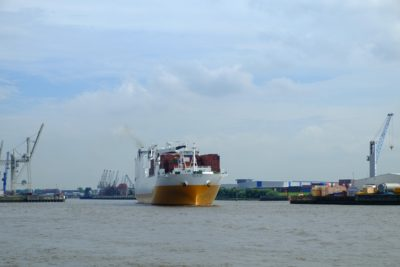 industry, ship, water, watercraft, cargo ship, shipment, sea, logistics