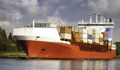 cargo ship, watercraft, water, ship, sea, harbor, shipment, vehicle