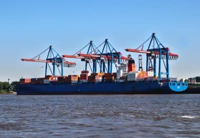 Frachtschiff, Hafen, Wasserfahrzeug, Schiff, Export, Transport, Wasser, commerce