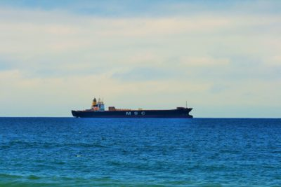 cargo ship, water, watercraft, sea, ship, boat, ocean, transport