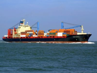 watercraft, ship, shipment, container, cargo ship, water, industry