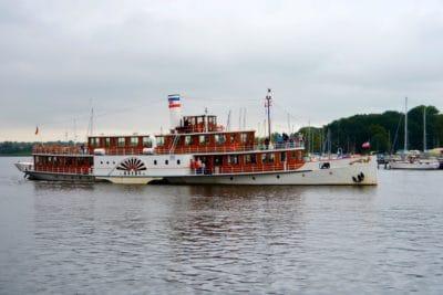 acqua, moto d'acqua, fiume, nave, barca, veicolo, scialuppa di salvataggio, rimorchiatore