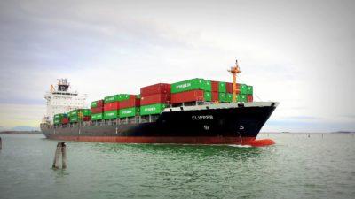 navire cargo, livraison, industrie, eau, bateau, bateaux, port, mer