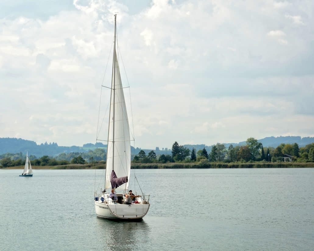船舶, 帆船, 水, 帆, 船, 车, 游艇