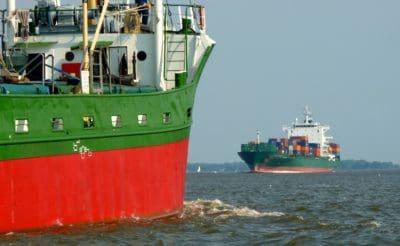 moto d'acqua, nave, mare, acqua, industria, nave da carico, contenitore, Porto