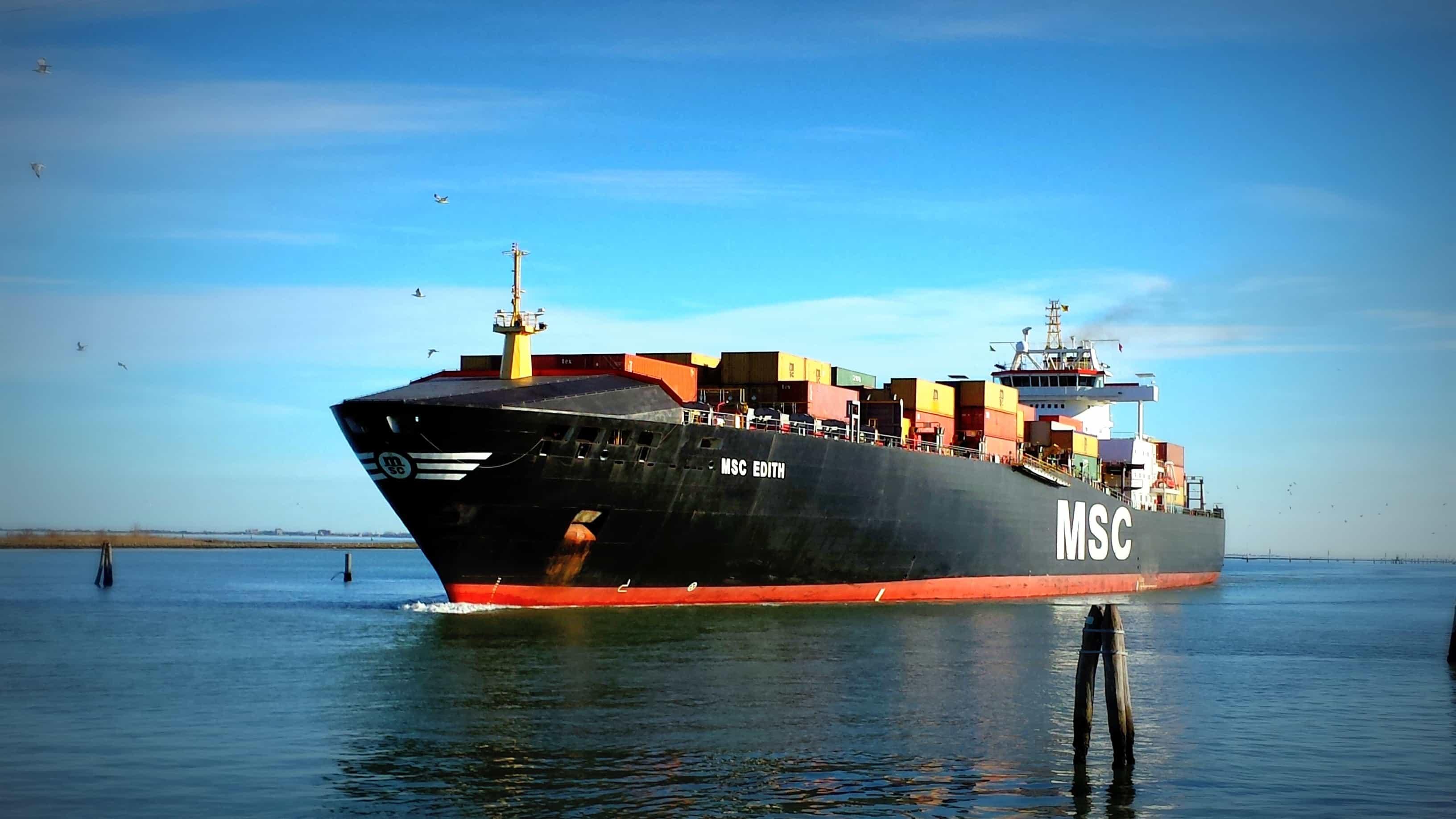 Free Picture Watercraft Water Cargo Ship Ship