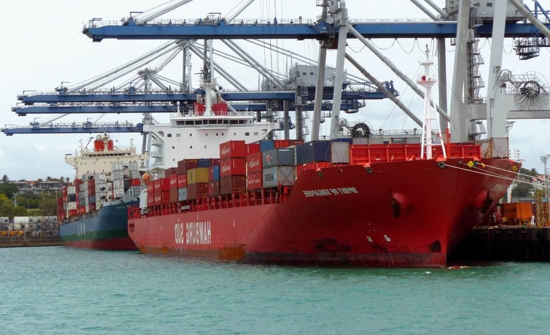 ship, shipment, cargo ship, industry, watercraft, water, sea, harbor