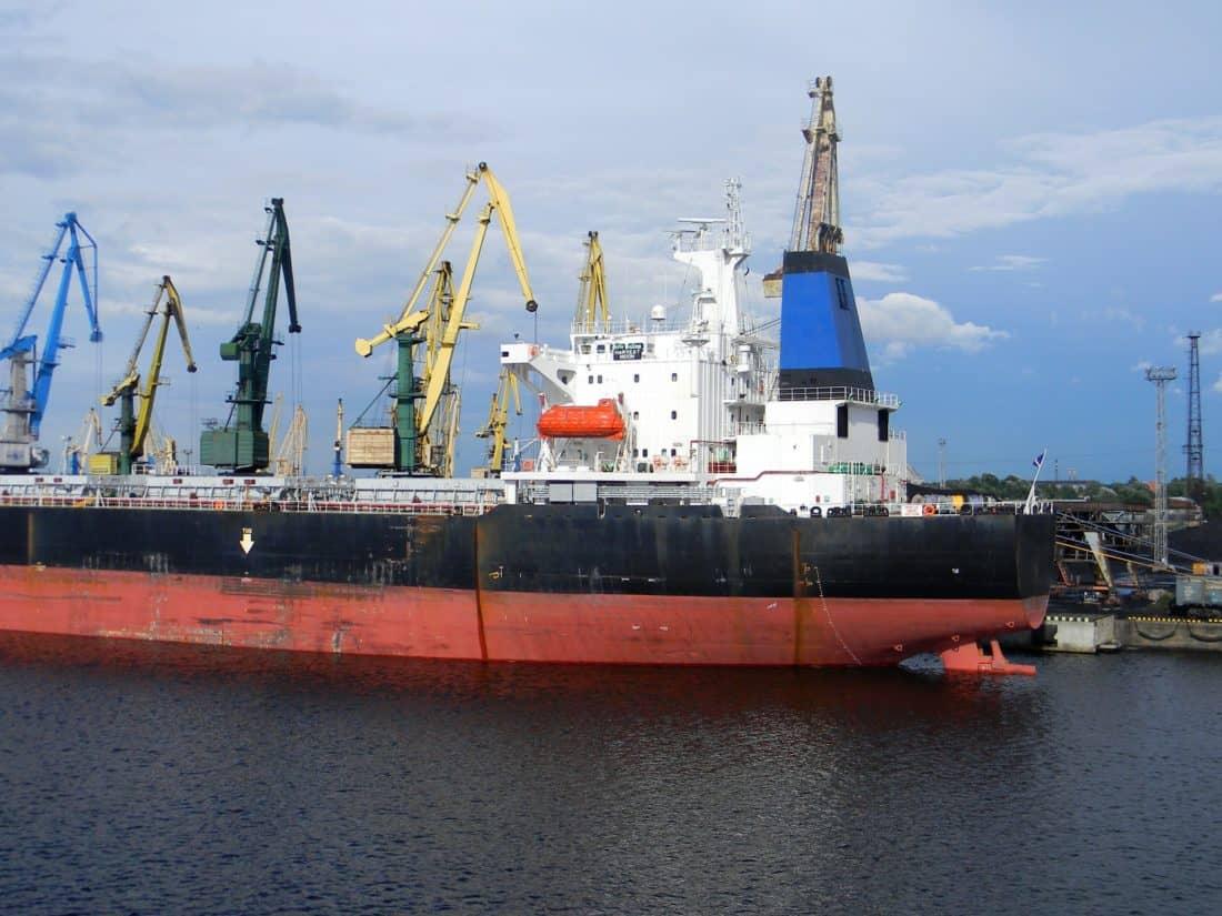 embarcación, nave, puerto, industria, agua, barco de carga, envío