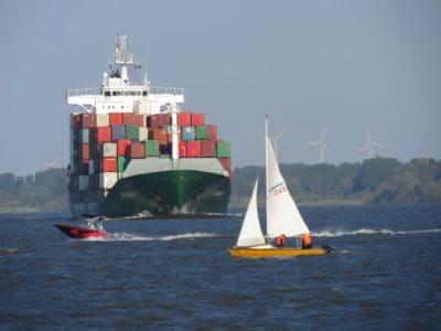 watercraft, cargo ship, ocean, water, vehicle, ship, sea, boat
