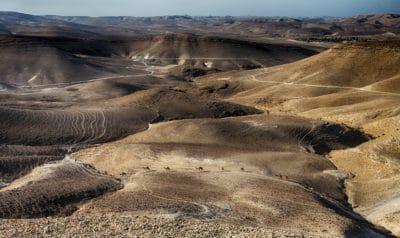 désert, paysage, vallée, sable, terre en friche, sec, nature, eau