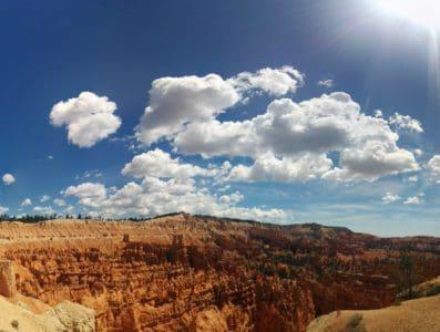 sky, desert, landscape, nature, mountain, geology, sky, outdoor, valley