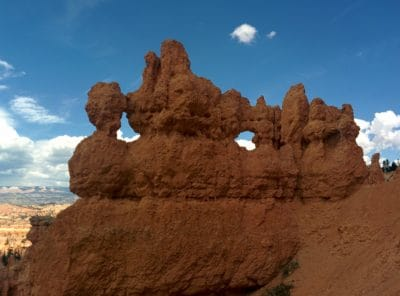 desert, blue sky, sandstone, landscape, geology, canyon, mountain