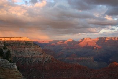 gün batımı, peyzaj, şafak, bulut, dağ, Kanyon, Vadisi, çöl