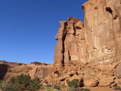 사암, 하늘, 침식, 지질학, 사막, 협곡, 절벽, 풍경, 돌, 산