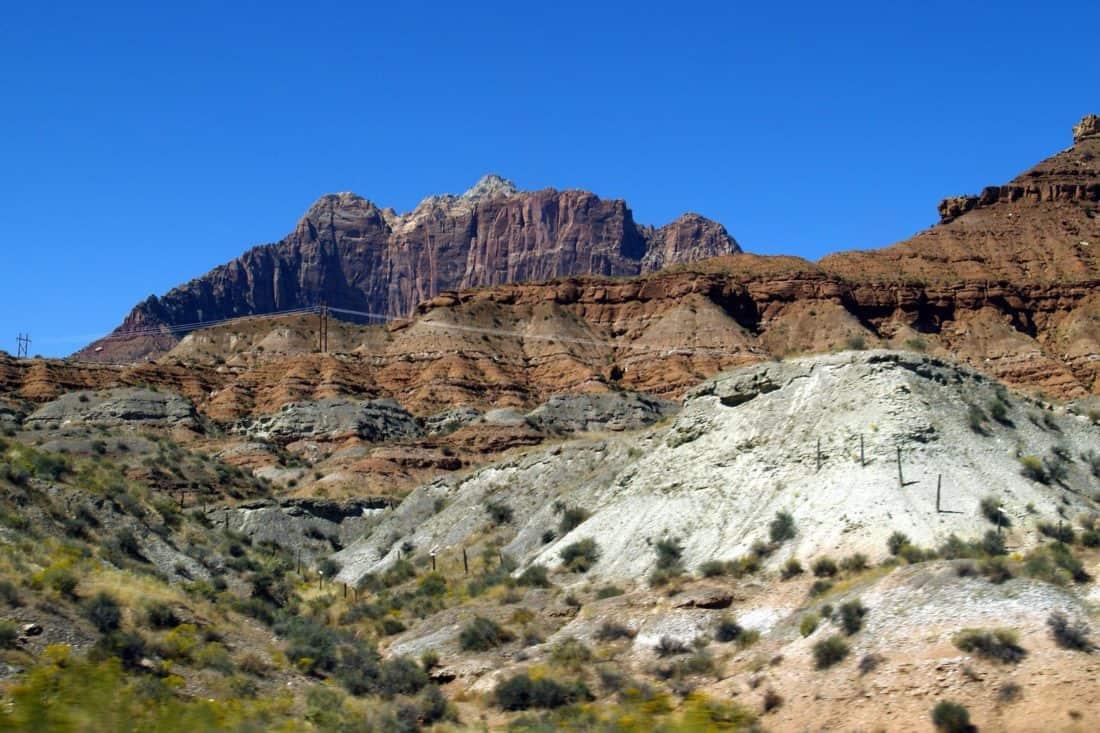 пейзаж, планина, небето, ерозия, геология, природа, каньон, пустиня, долината