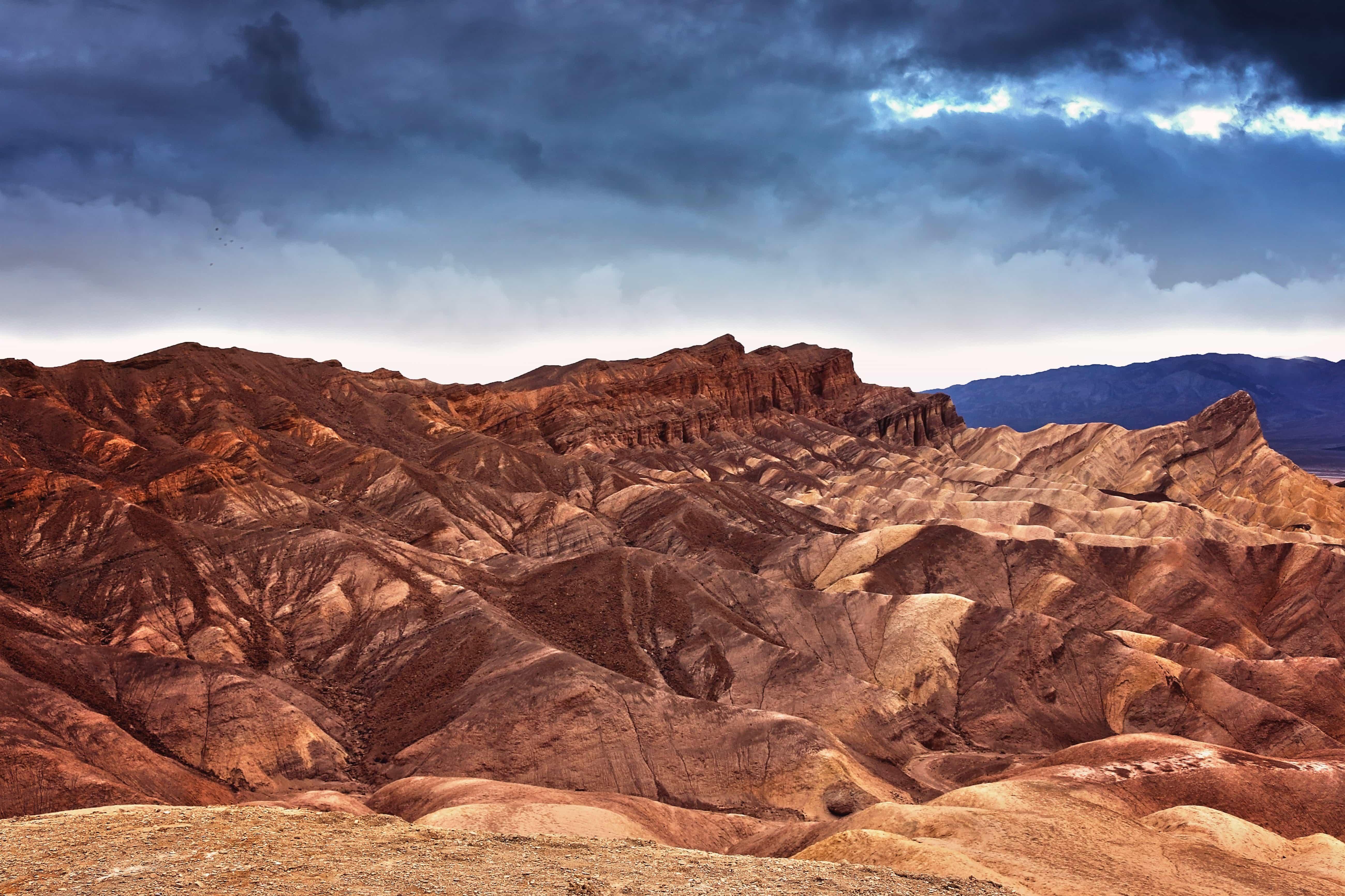 Free Picture Desert Landscape Cloud Sandstone Canyon