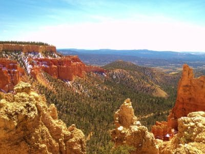 landscape, geology, blue sky, sandstone, nature, canyon, erosion