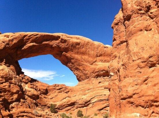 sandstone, erosion, blue sky, geology, desert, canyon, nature, sky, valley