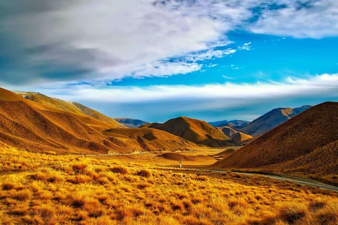 τοπίο, έρημο, ουρανός, βουνό, μπλε του ουρανού, φαράγγι, κοιλάδα, υπαίθριο