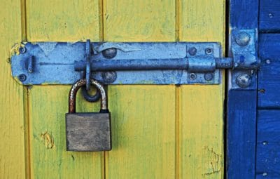 door, wood, iron, antique, object, entrance, security, wooden, old, padlock