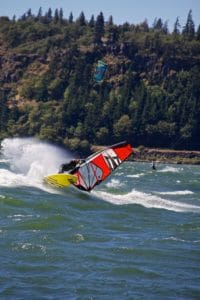 water, sport, wind, wave, sailing, man, recreation