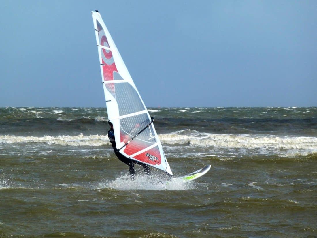 water, sea, sport, wind, wave, ocean, wave, beach, boat, summer, watercraft
