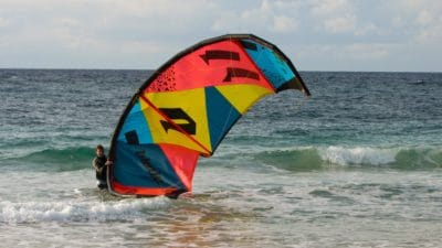 вода, море, лето, спорт, ветер, пляж