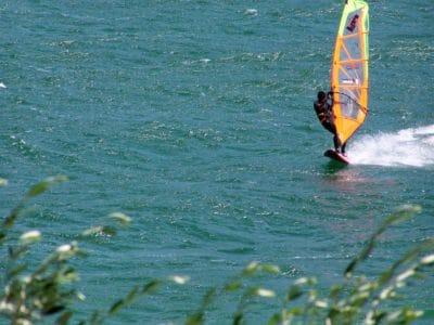 вода, лято, океан, лодка, спорт, раса, вятър, море, гребло, плаж, Открит