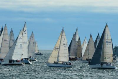 watercraft, sailboat, sail, yacht, regatta, water, boat