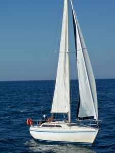 sailboat, yacht, sail, water, watercraft, sea, catamaran