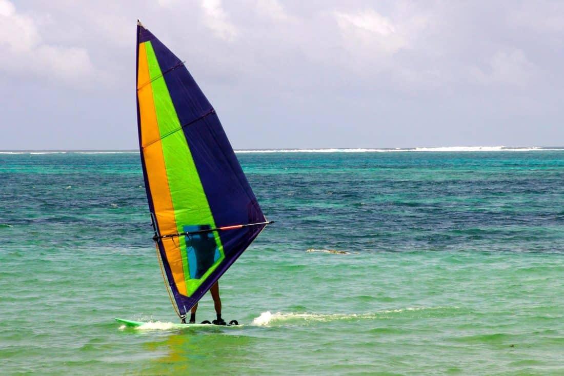 water, summer, sea, ocean, sport, athlete, wave, beach, wind
