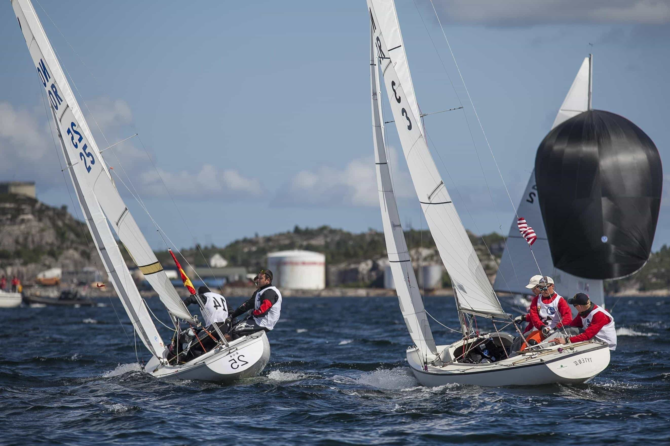 a brief look at the sport of sailboat racing Experience a sailboat race from inside the boat as you listen in on the captain and his crew communicate hear the sounds of the boat during a real race at.