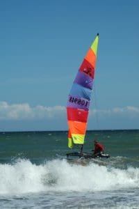 wind, race, water, sport, wind, catamaran, sailboat, sea, ocean, boat
