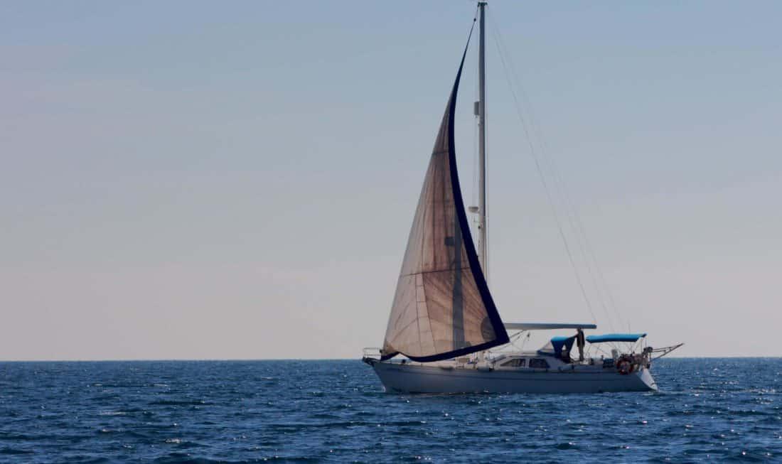 vitorlás hajó, vitorlás, víz, motoros vízi sporteszközök, sport, verseny, szél, yacht, tenger, óceán