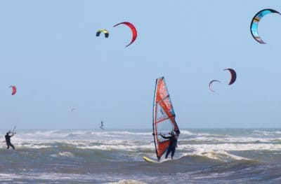 parachute, adventure, sport, wind, exhilaration, sport, beach, water