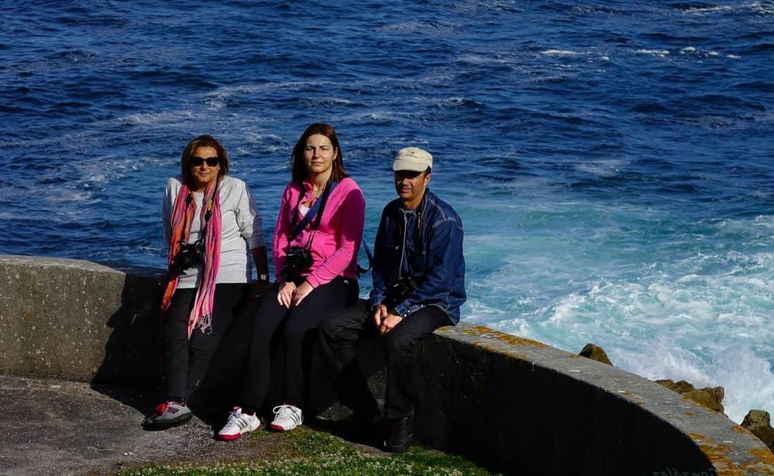gente, mar, hombre, disfrute, mar, retrato, mar, océano, playa, agua