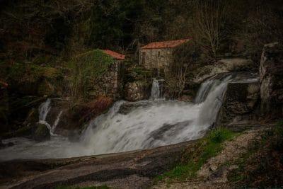 eau, cascade, rivière, écologie, berge, paysage, bois, forêt, ruisseau