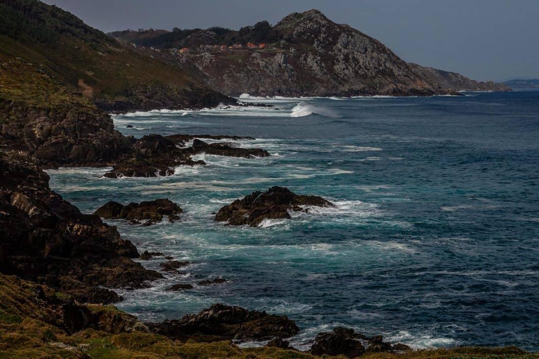 water, seashore, sea, wave, ocean, beach, landscape, coast