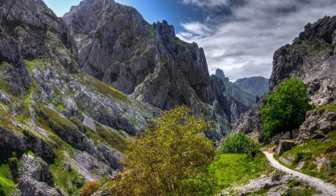 mountain, landscape, nature, valley, wilderness, sky, valley, wilderness