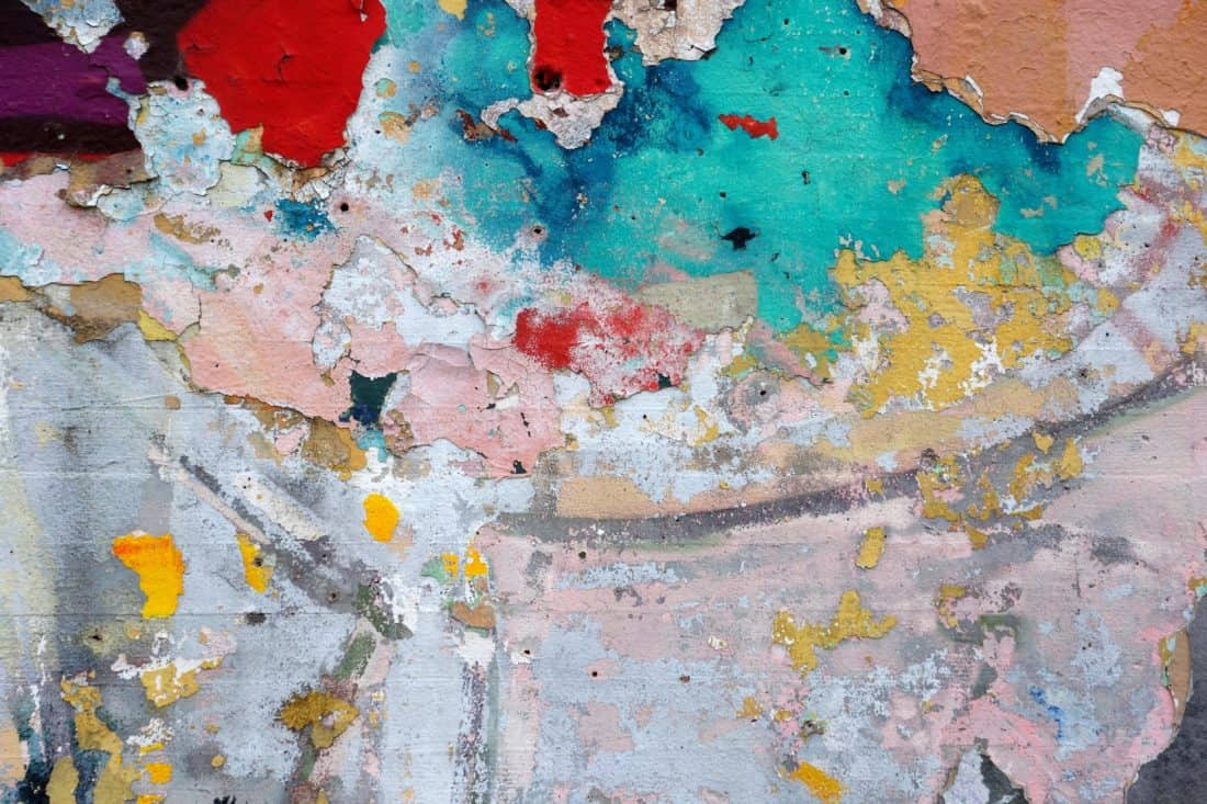 dirty, stain, art, urban, colorful, texture, grunge, old, surface, wall