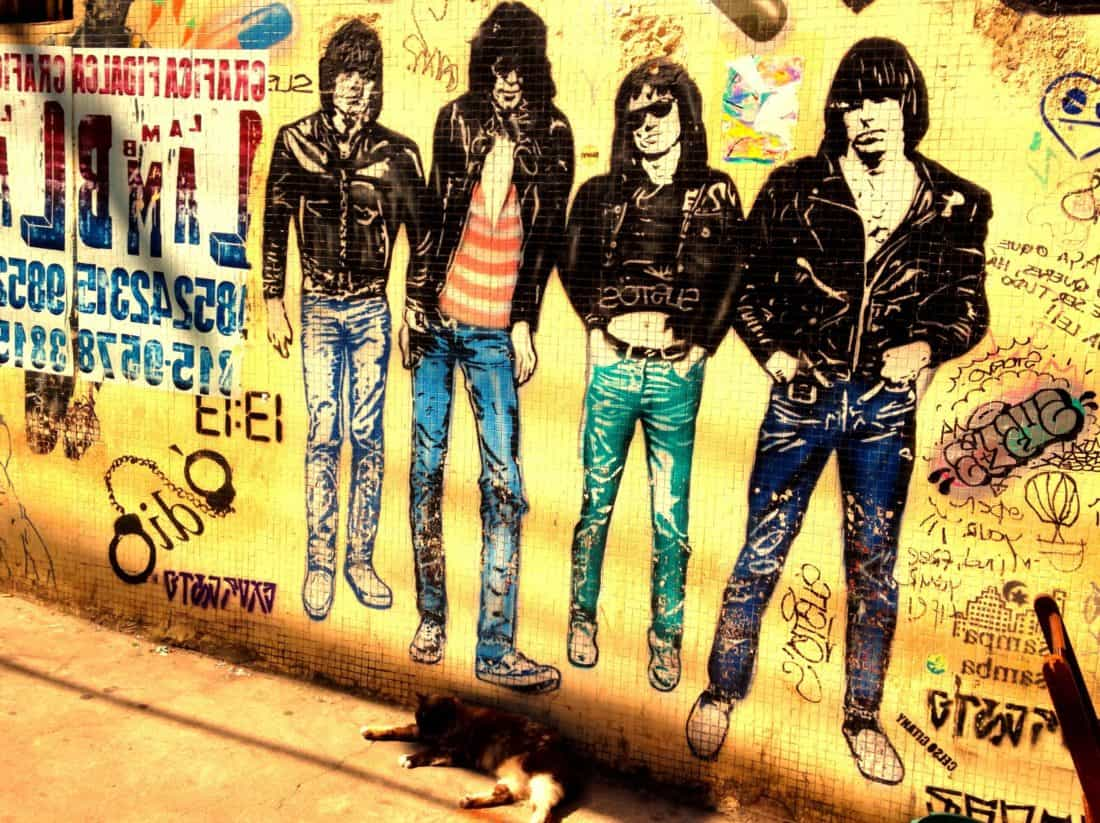 graffiti, people, text, street, city, urban, wall
