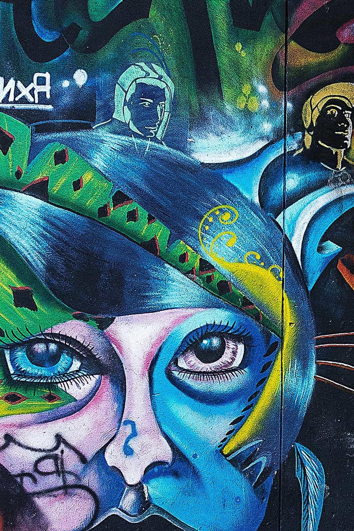 imagen gratis  graffiti  arte  art u00edstico  m u00e1scara