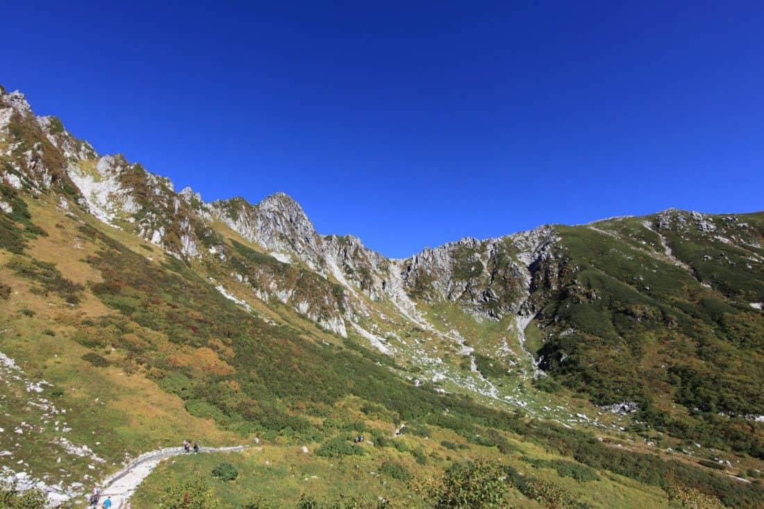 montaña, paisaje, cielo azul, naturaleza, pico de la montaña, al aire libre