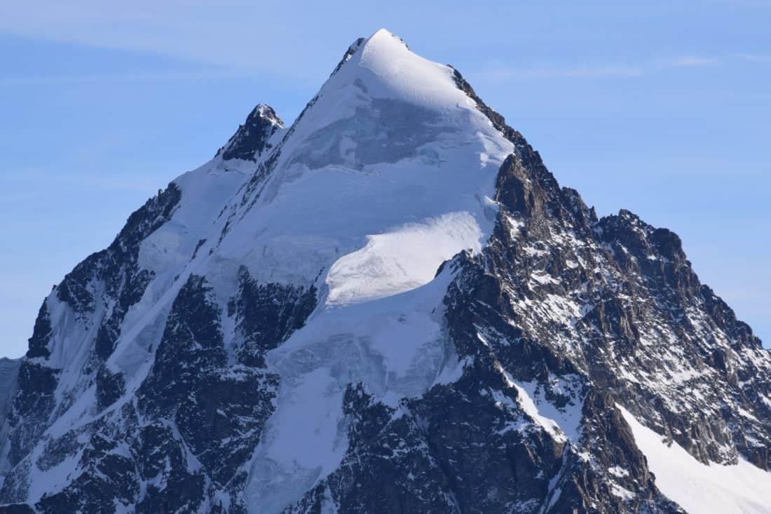 mountain, snow, outdoor, sky, mountain peak, geology, winter, nature