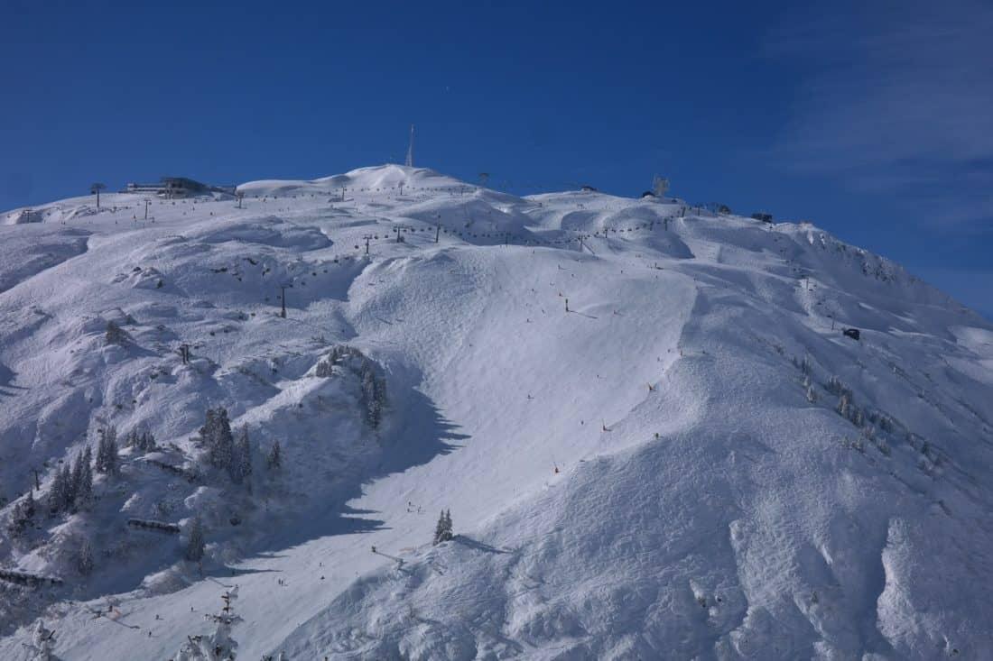 snow, winter, mountain, blue sky, cold, landscape, glacier, ice