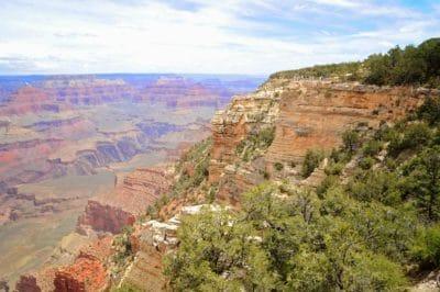landschap, canyon, natuur, blauwe hemel, wolk, geologie, zandsteen, berg