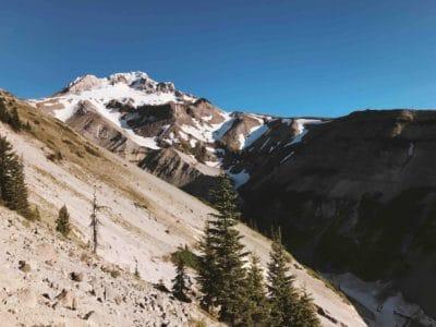 montanha, neve, céu, céu azul, geleira, natureza, paisagem, ao ar livre